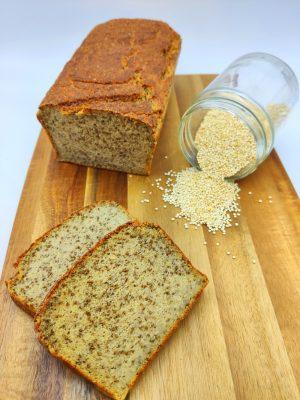 Pan de Quinoa Sin Gluten